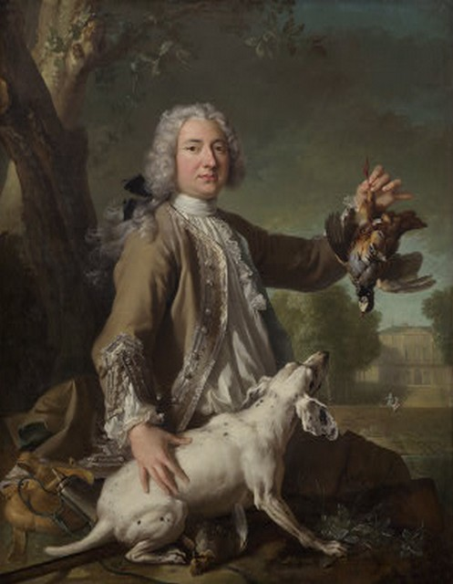 Le marquis de Beringhen, Jean-Baptiste Oudry, 1722, National Gallery of Art, Washington, D.C.